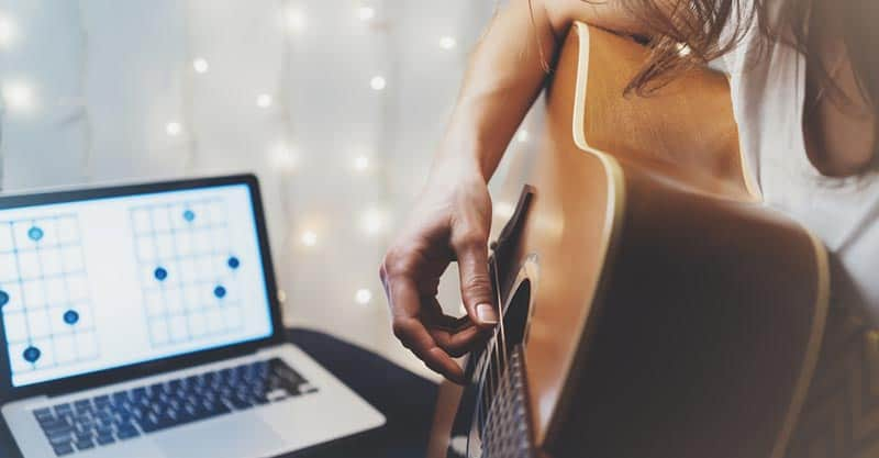 Speed up the process of learning guitar