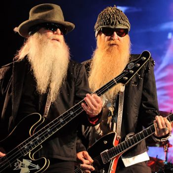 ZZ Top rock the crowd on stage in these images