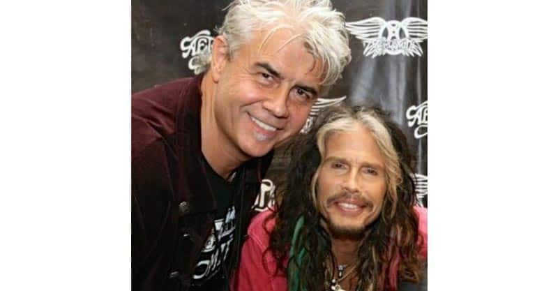 Chef Grant MacPherson with Steven Tyler