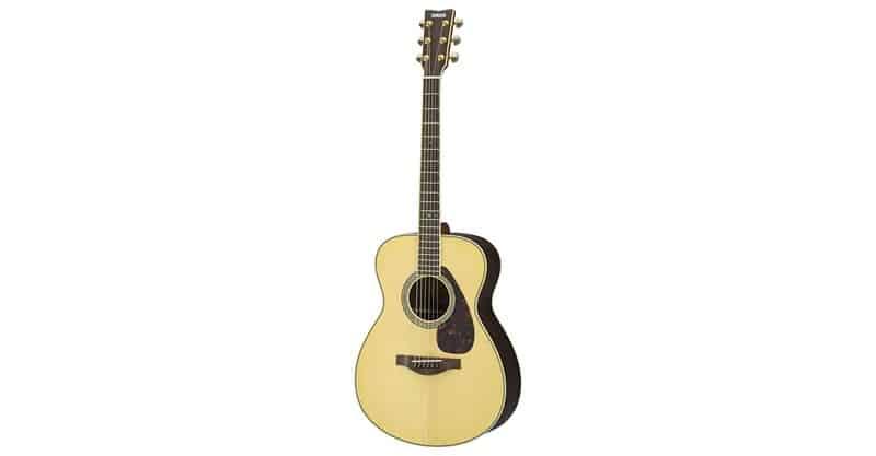 Yamaha L-Series LS6 Concert Size Acoustic-Electric Guitar