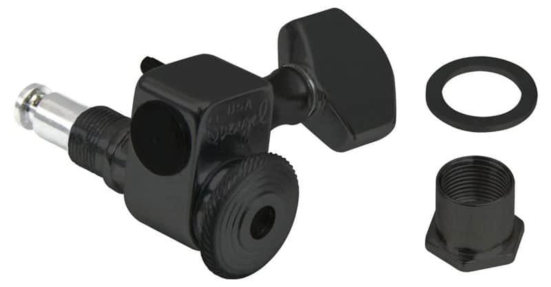 Sperzel 6 Inline Locking Tuners Black