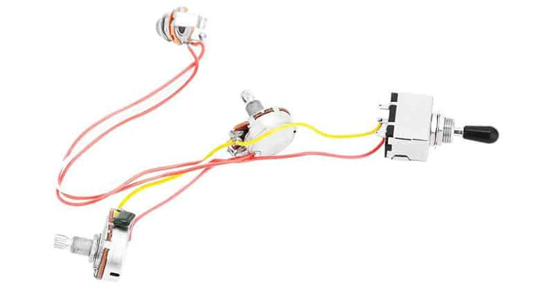 Vbestlife Guitar Harness Prewired 3 Way