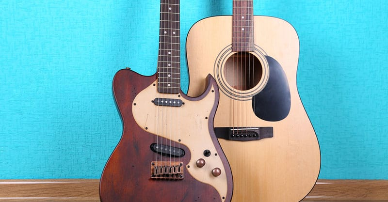 Electric Guitar Vs Acoustic Guitar Differences