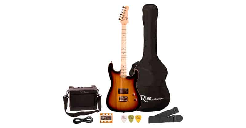 Rise By Sawtooth Right-Handed 3/4 Size Beginner Electric Guitar Kit