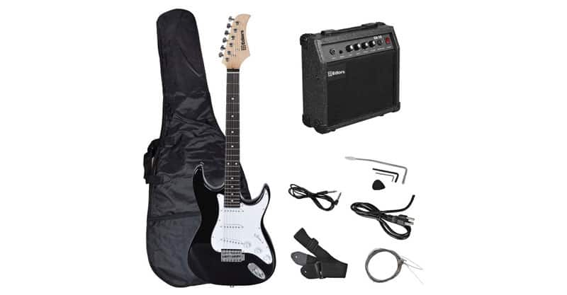 Ediors Full Size Electric Guitar Starter Package
