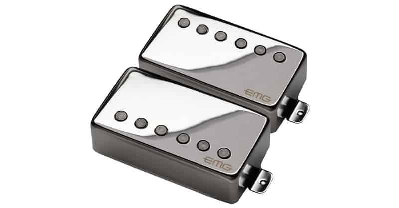 EMG 57/66 Bridge And Neck Humbucker Guitar Pickups Set
