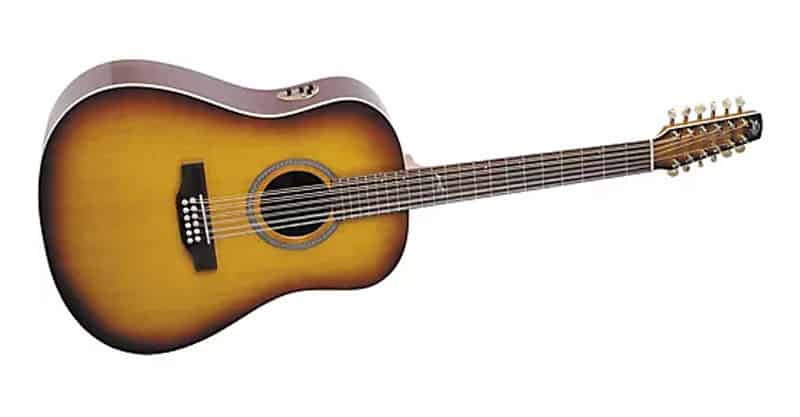 Seagull Artist Studio Dreadnought 12-String QII Acoustic-Electric Guitar