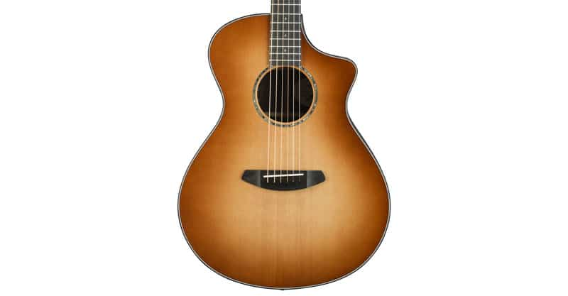 Breedlove Premier Series Concert CE Sitka-Rosewood Acoustic-Electric Guitar With Deluxe Hardshell Case