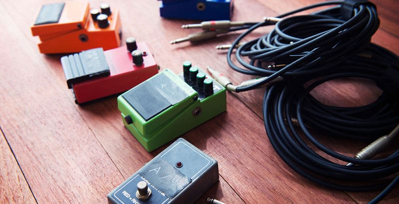 Different types of pedal