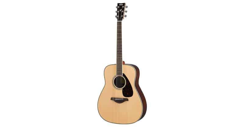 Yamaha FG830 Solid Top Folk Guitar