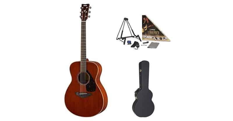 Yamaha FS850 Small Body Acoustic Guitar