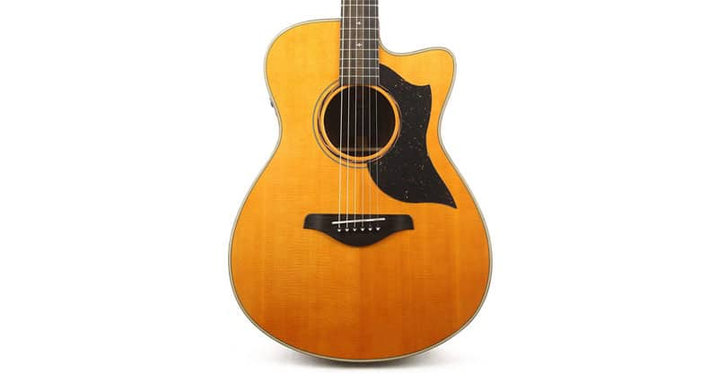 Yamaha AC5R ARE Concert Acoustic-Electric Guitar