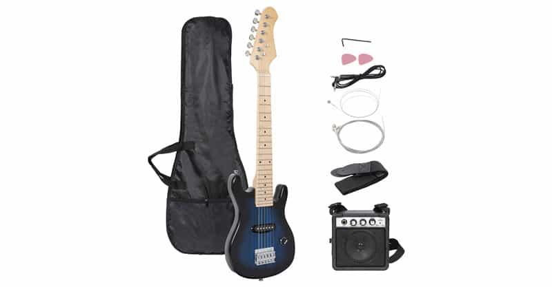 "Smartxchoices 30"" Kids Electric Guitar Kit"